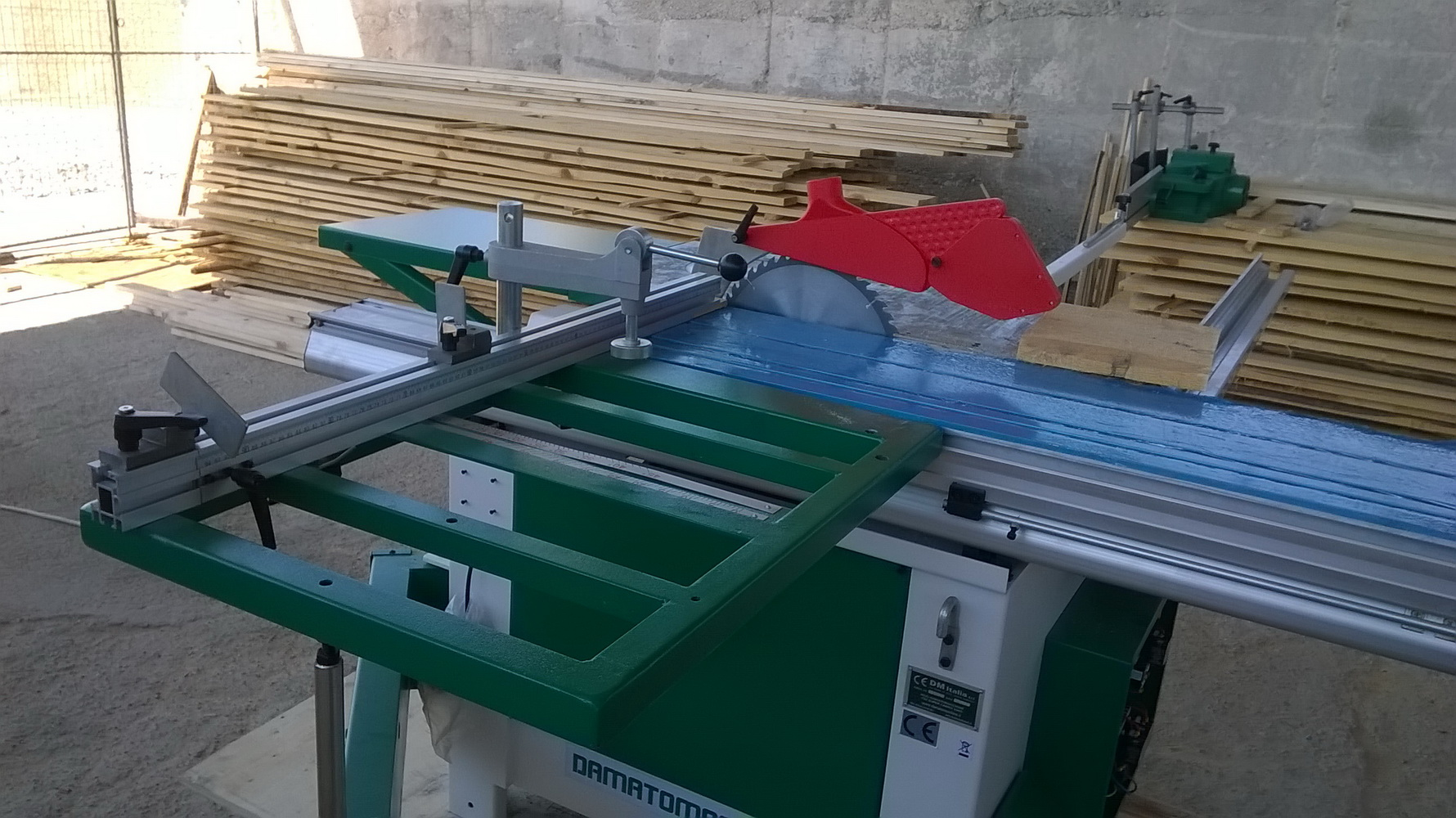 Masina Combinata lemn circular cu Freza damato machine  TSI super 2500 4