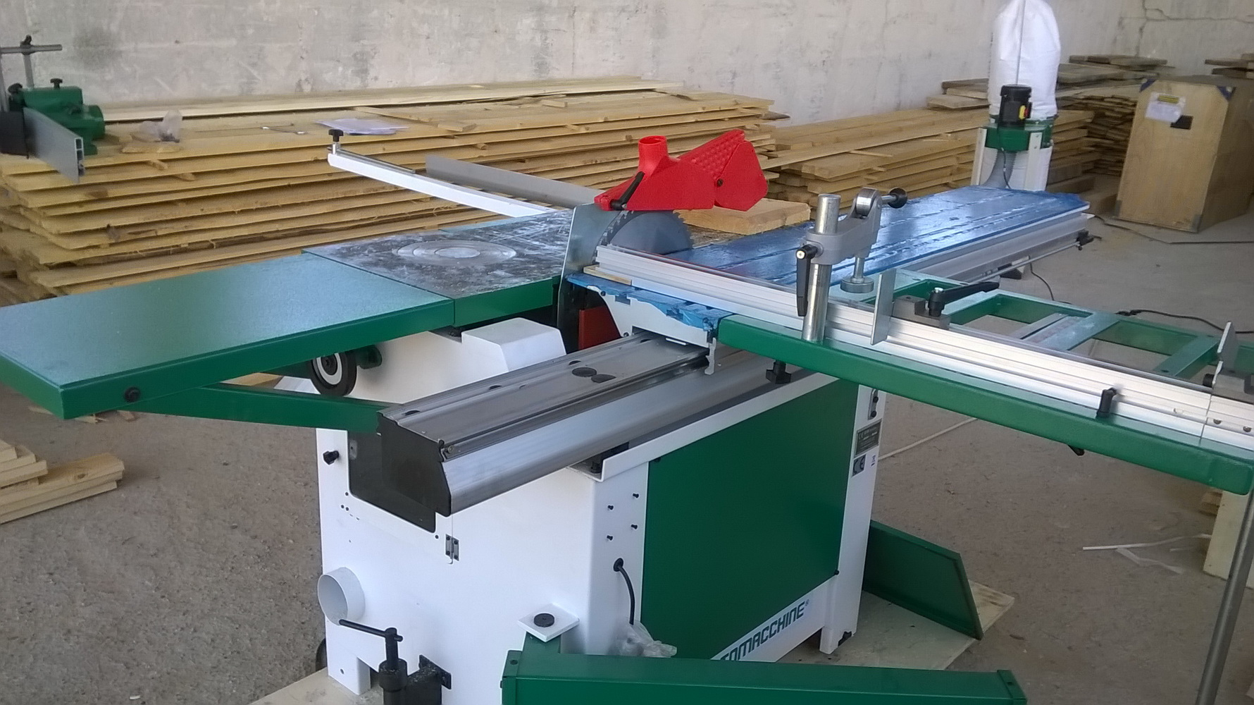 Masina Combinata lemn circular cu Freza damato machine TSI Super 1600 2