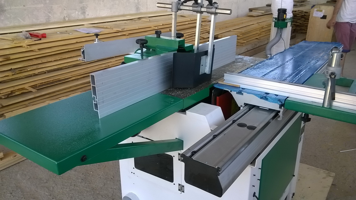 Masina Combinata lemn circular cu Freza damato machine TSI Super 1600 3
