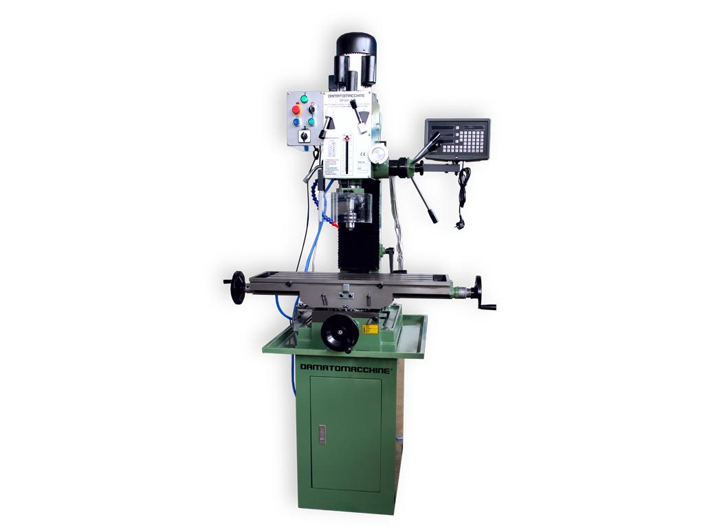 Masina de frezat metale cu actionare avans manual orion 4 5 for Damato macchine utensili